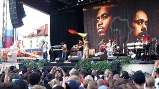 Nas & Damian Marley - Patience, Live @ Gröna Lund, Stockholm, Sweden 100707 [HD]