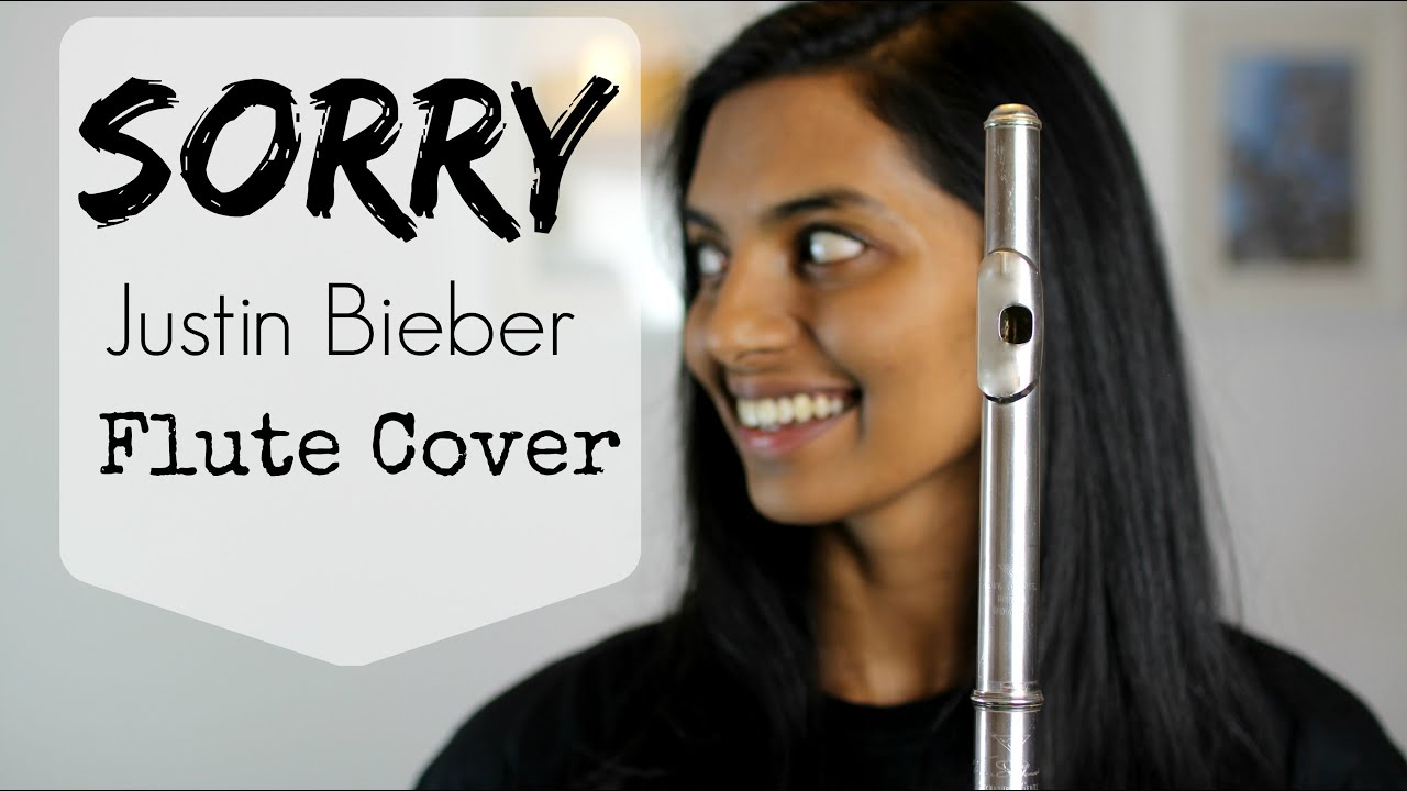 Sorry - Justin Bieber Flute Cover - YouTube