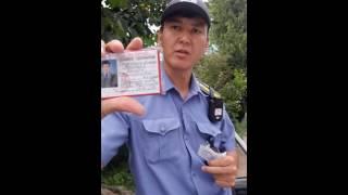 Хамство патрульной милиции
