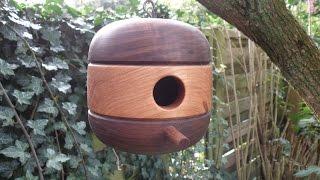 Woodturning - ''retro'' Style Birdhouse
