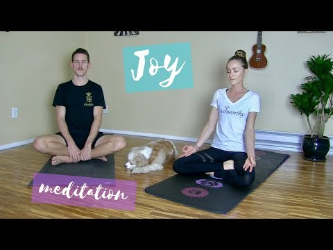 8 Minute Guided Meditation for Joy | Dashworthy Yoga with Heather