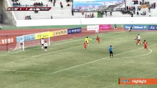 2015 K리그 챌린지 3라운드 강원FC vs 부천FC 하이라이트
