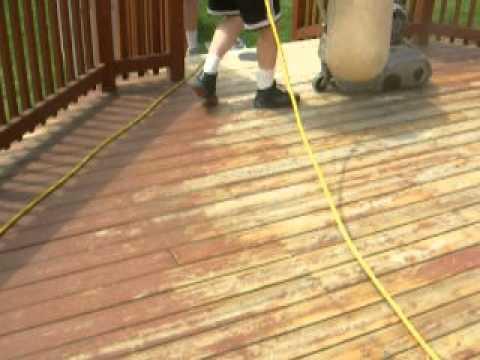 Porter Floor Sanding Deck Production