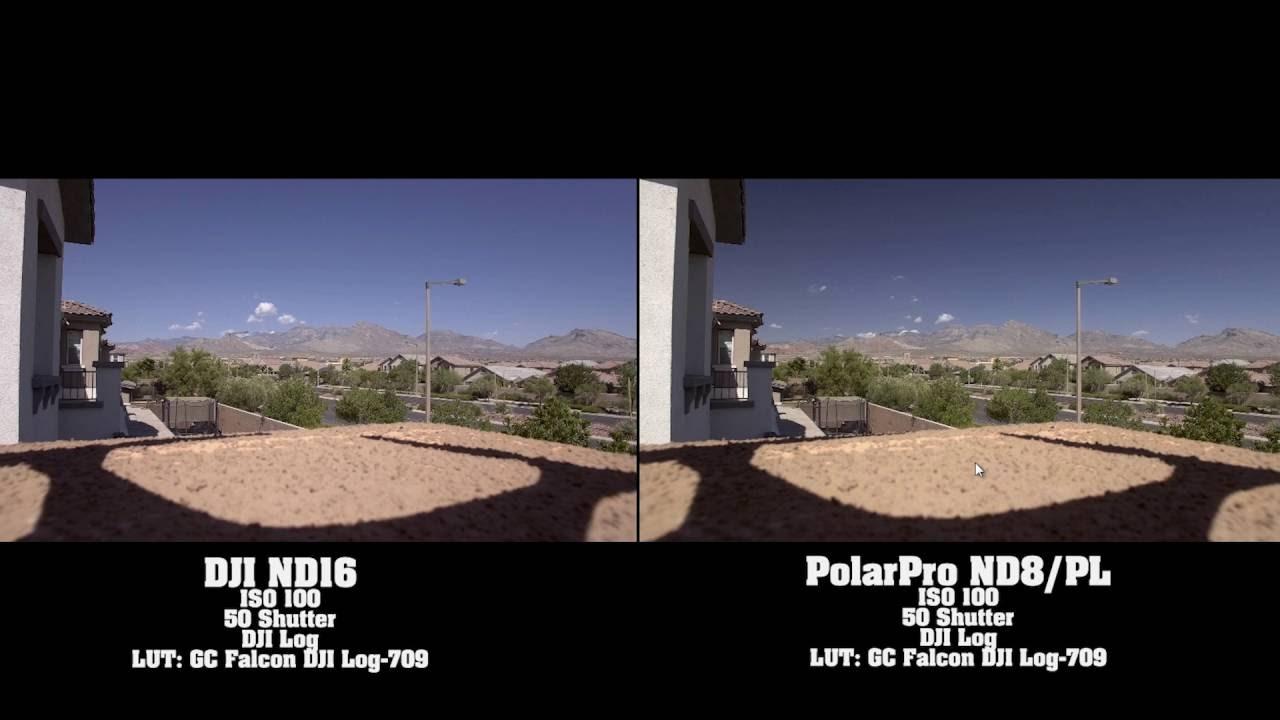 Фильтр nd16 dji видео обзор сравнение mavic air