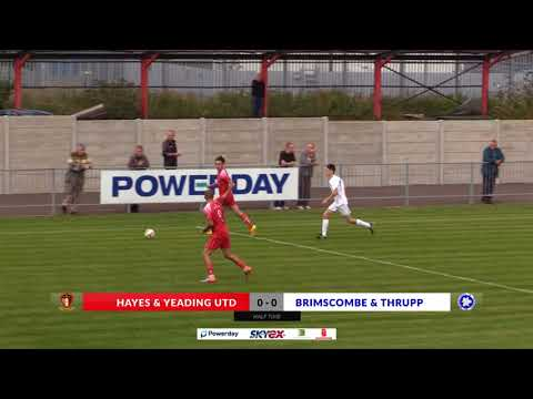 Hayes & Yeading v Brimscombe & Thrupp - 19th Aug 2017