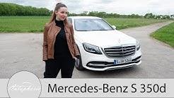 2018 Mercedes-Benz S 350d Fahrbericht (W222 MoPf) / Check des Basis-Diesel der S-Klasse - Autophorie