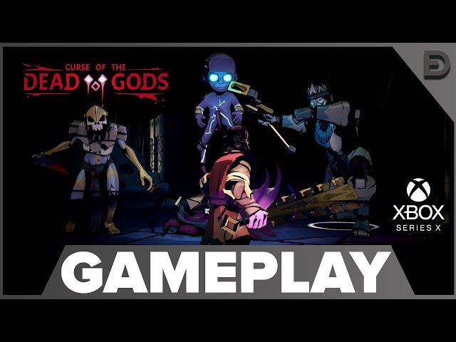 CURSE OF THE DEAD GODS | JOGO ESTILO HADES EM PT-BR
