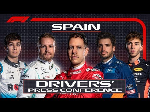 2019 Spanish Grand Prix: Pre-Race Press Conference