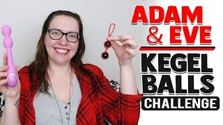 Ben Wa Balls Reviews | Kegel Wand Vibrator | Adam and Eve Kegel Balls Challenge