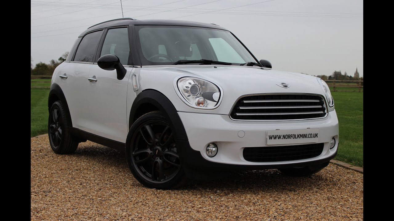 2010 mini countryman cooper diesel white youtube. Black Bedroom Furniture Sets. Home Design Ideas