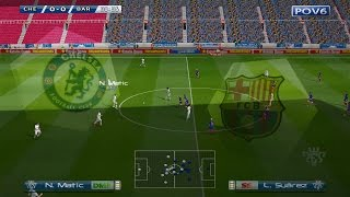 PES 6 PATCH 2017 | CHELSEA vs BARCELONA | Full Match Gameplay HD 60 FPS