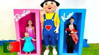 Cinco Crianças Cinco Pequenos Bebês | Musica Infantil Nursery Rhymes