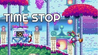 TIME STOP! - Stop Time and Faze Through Objects! - Sonic Mania Plus