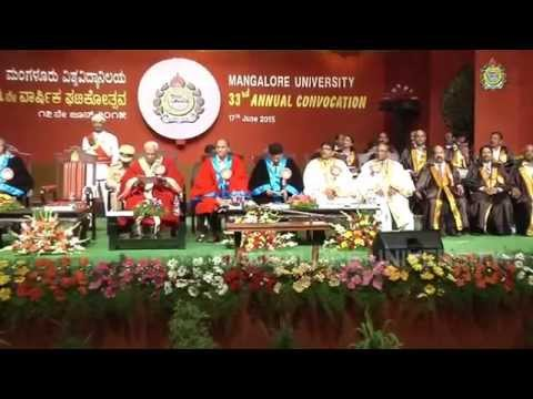 33rd Convocation Video 01, 17-06-2015