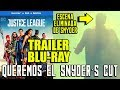 JUSTICE LEAGUE - TRAILER BLU-RAY - SUPERMAN SCENE - NUEVA ESCENA - LIGA JUSTICIA