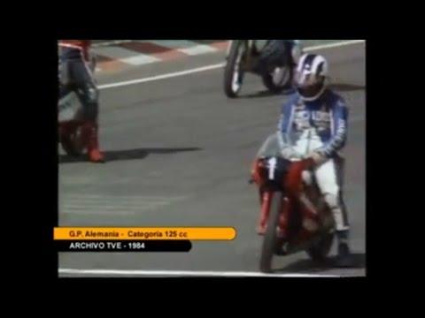 Ángel Nieto wins 1984 German GP in 125cc