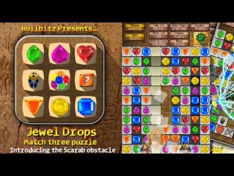 Jewel Drops - Match three puzzle - Apps für Android
