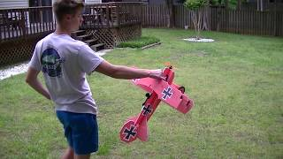 I got a chance to fly the new Mini Fokker today! Cody has a winner ...