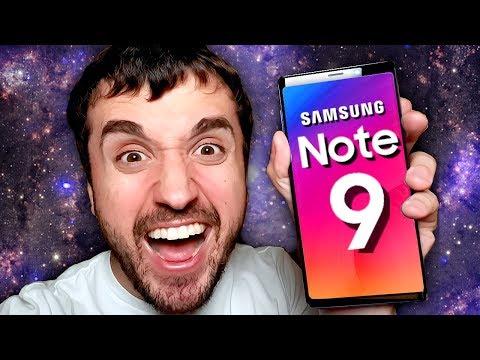 ELE CHEGOU, ELE É DEMAIS! - Galaxy Note 9