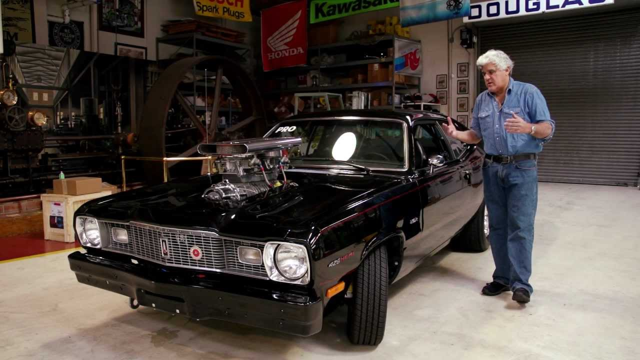 Jay Leno And The Most Bad Ass Pro Street Duster Ever Built