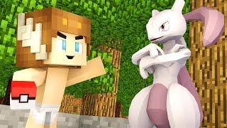 CATCHING MEWTWO IN POKEMON GO! (Minecraft - Who's Your Daddy?)