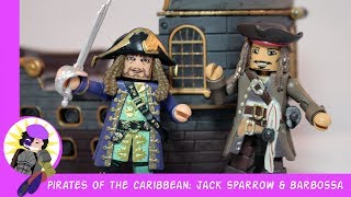 Minimates Pirates of the Caribbean Jack Sparrow and Barbossa Review