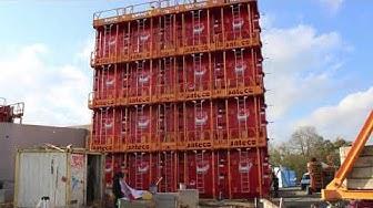 Banche BOX SC1015 Sateco sur chantier
