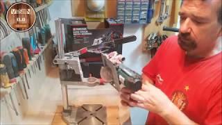 Mini sierra circular PARKSIDE PHKSA 12 A1. Unboxing y pruebas.