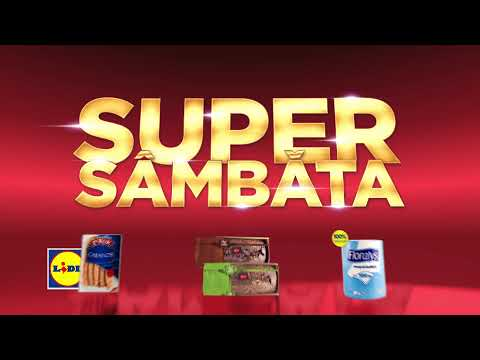 Super Sambata la Lidl • 9 Septembrie 2017