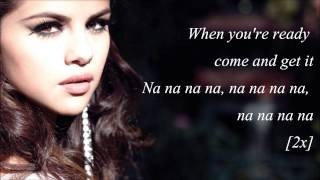 """Come and get it by selena gomez from the album """"stars dance"""". [tracklist] 1. birthday 2. slow down 3. stars dance 4. like a champion 5. & 6. forg..."""