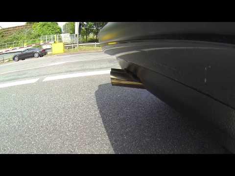 BMW E30 2.7C3 loud tunnel sound! GoPro Hero 3 Black Edition
