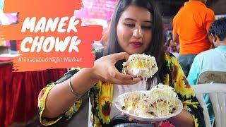 Best Of Manek Chowk | Ahmedabad Street Food | Golgappa Girl