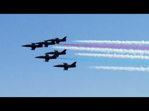Patriots Jet Team Performance At The California Capital Airshow September 9, 2017