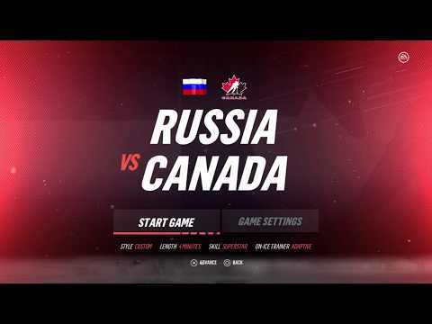 NHL 19 Best in The World Tournament Russia vs Canada - ROUND 2
