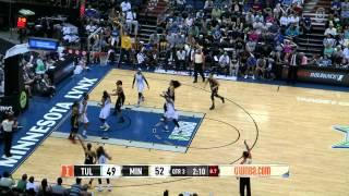 Skylar Diggins Shocks the Lynx with 26 Points!