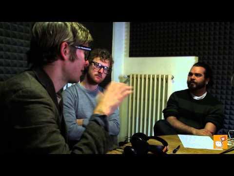 Public Service Broadcasting Interview @Radio Città Fujiko
