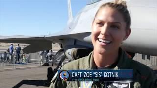 "Meet Capt. Zoe ""Sis"" Kotnik - F-16 Pilot"