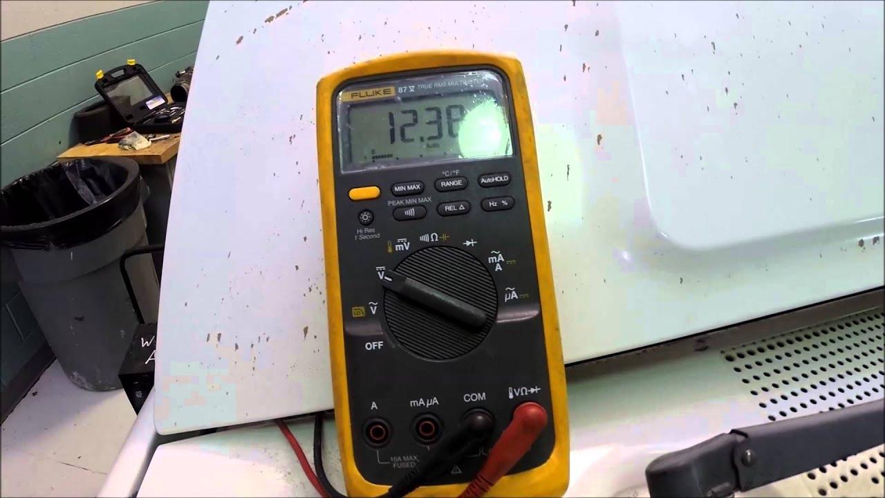 Powerstroke 73 Glow Plug Relay Test Youtube 2002 Ford 7 3 Wiring