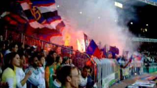 SV Werder Bremen vs. FC Basel Pyromanie