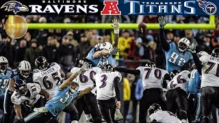 A Rivalry Renewed! (Ravens vs. Titans 2008 AFC Divisional Round) | NFL Vault Highlights