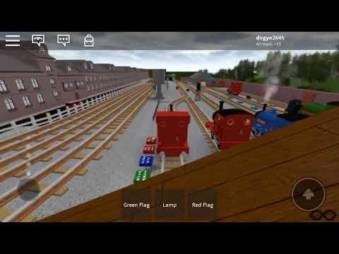 ROBLOX Thomas And Friends Skarloey Bertram Rheneas Crashes!