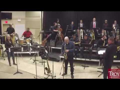 A Gentle Man (excerpt) | Chris Merz | Troy University Jazz Ensemble