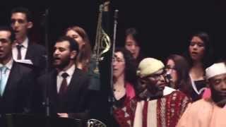 Les Voix Du Choeur - Mawlaya sali wa salim BIS مولاي صل وسلم (Avec la troupe soufie de Meknes)