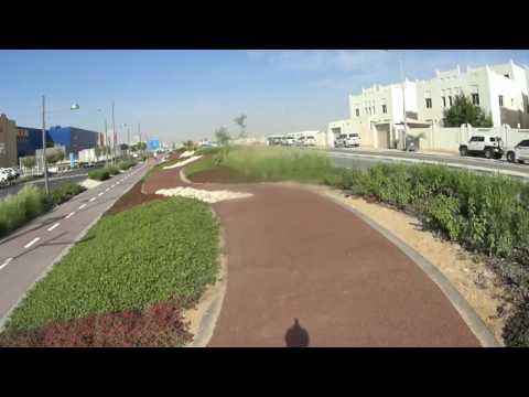 Festival City - Cycling path - Doha (Qatar)