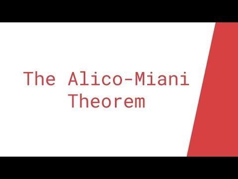 [April Fools] The Alico-Miani Theorem