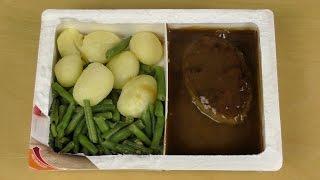 Salisbury Steak with String Beans and Potatoes [Prima Menü]