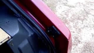 видео: Исправляет грохот багажника ваз 2109