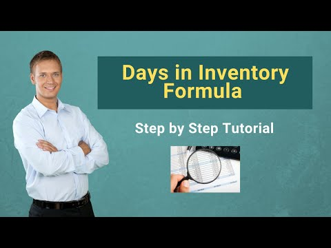 days in inventory formula formula calculator excel template