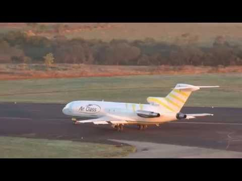 Air Class Boeing 727 Cargo - rodaje y despegue - Aeropuerto de Resistencia - SUB