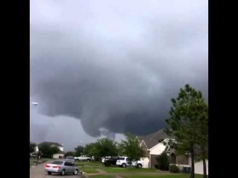 League City Tx Funnel Cloud Tornado Youtube